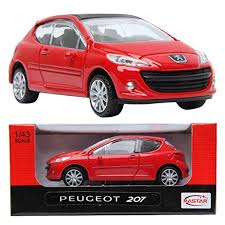 peugeot 207 red online store rastar peugeot 207 red 1 43 die cast car minicar toy