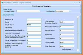 Free Excel Payroll Template 10 Free Excel Payroll Spreadsheet Sles Of Paystubs