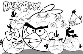 angry birds colouring pages a4 angry birds boyama resim