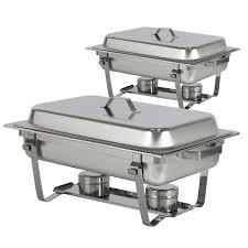 nutrichef food warming tray buffet server plate warmer