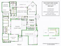 adobe house plans with courtyard beautiful ideas 4 adobe house plans with center courtyard house