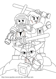 star wars legos coloring pages printable pictures 7266