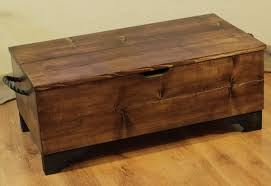 wooden trunk coffee table coffee table antique wooden trunk
