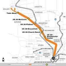Rtd Rail Map Broomfield Economic Development Fastracks