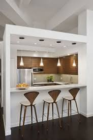 Galley Kitchen With Breakfast Bar Extraordinary Small Kitchen Designs Images Galley Layouts Simple