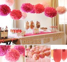 baby girl themes for baby shower baby shower decorations for ideas image gallery pics on