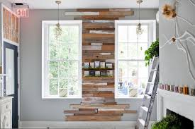 how to create a reclaimed wood wall apartment therapy