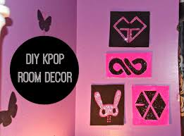 diy k pop room decor wall art kpop crafts and ideas pinterest