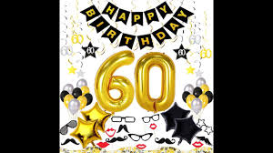 60th birthday decorations 60th birthday party ideas 60th birthday decorations kit 70 pieces