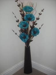 Blue Flower Vases Best 25 Black Vase Ideas On Pinterest Modern Flower