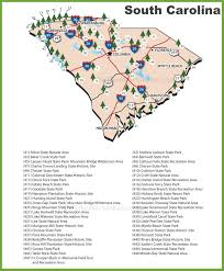 Missouri State Parks Map by South Carolina State Parks Map