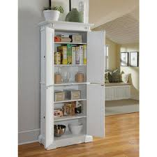 12 Inch Kitchen Cabinet by Home Styles Americana Pantry In White 5004 692 The Home Depot