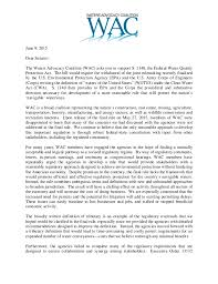coalition letter to senate supporting passage of the u201cfederal water q u2026