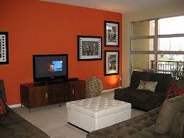 accent wall color modern design accent wall ideas orange accent
