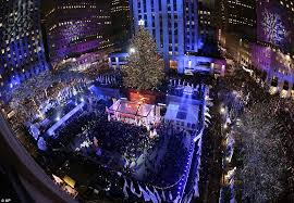 sting michael buble and the bandy perry at the rockefeller tree