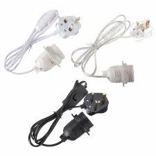 electric cord with light bulb 1 5m power cord e27 e26 l base l holder light bulb socket