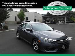 certified lexus seattle used 2016 honda civic for sale in seattle wa edmunds