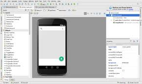 android studio button floating button exle tutorial android studio material