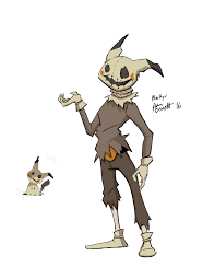 image result for mimikyu scary halloween pinterest pokemon