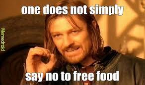 Free Food Meme - free food meme by gunnar memedroid