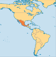 Monterrey Mexico Map by Mexico Operation World
