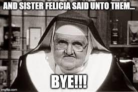 frowning nun meme imgflip