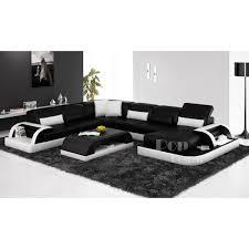 canap de luxe design canapé d angle panoramique design en cuir véritable bolzano xl