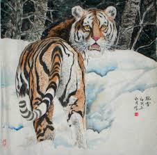 tiger in painting and its symbolic meaning