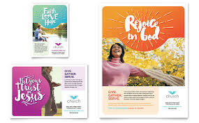 free church brochure templates for microsoft word church flyer ad template design