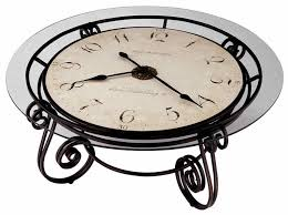Miller Table Howard Miller Antique Ravenna Cocktail Coffee Table Clock 615010