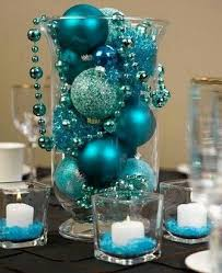 Ice Blue Christmas Table Decorations by Best 25 Teal Centerpieces Ideas On Pinterest Teal Wedding