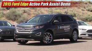 lexus park assist youtube 2015 ford edge active park assist demo testdriven tv