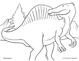 spinosaurus coloring pages getcoloringpages com