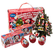 zaini mickey mouse christmas with 6 surprise chocolate eggs