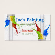 Zazzle Business Card Template Business Card Sample Painting Series Revised Business Card