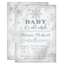 baby it s cold outside baby shower baby its cold outside invitations announcements zazzle co uk