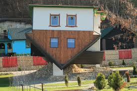 disorienting upside down houses of the world profound journey example of upside down houses