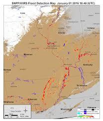 Volga River Map Flood Suomi Npp National Polar Orbiting Partnership