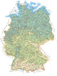 Koblenz Germany Map by Map Of Germany With Cities Black
