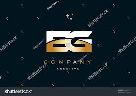 eg e g white yellow gold golden stock vector 606555917 shutterstock