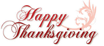 happy thanksgiving thanks to all of you