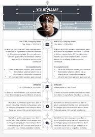 editable resume template esquilino modern powerpoint resume template
