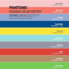 pantone 2016 colors colors for spring 2016 pantone color report