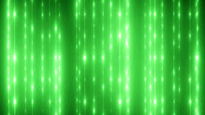 bright green flood lights disco background with vertical strips