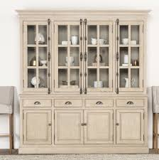 lisbon solid rubberwood china cabinet windsor elodie china cabinet reviews birch lane