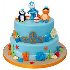 octonauts birthday cake octonauts 2tier birthday cake1 500x500 jpg