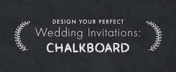 Chalkboard Wedding Programs Design Your Perfect Wedding Invitations Chalkboard Creative
