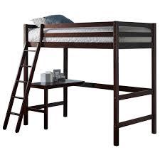Study Bunk Bed Hillsdale Furniture Caspian Chocolate Study Loft 2176 320