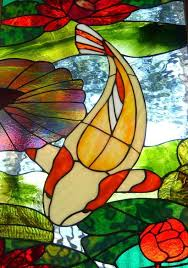 stained glass supplies l bases 84 best koi in glass images on pinterest stained glass glass art
