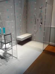 modern shower design room ideas for small bathroom black vertical subway tile corner shower design